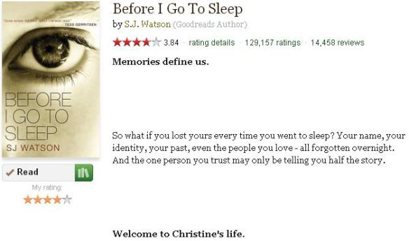 beforeigotosleepinfogoodreads