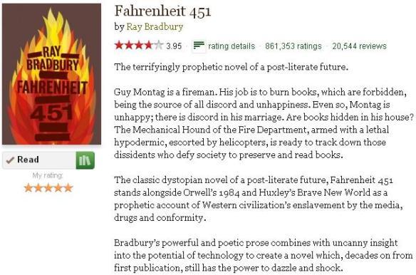 an analysis of the society in fahrenheit 451 by ray bradbury