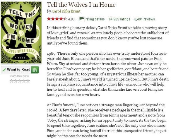 tellthewolvesimhomegoodreadsblurb