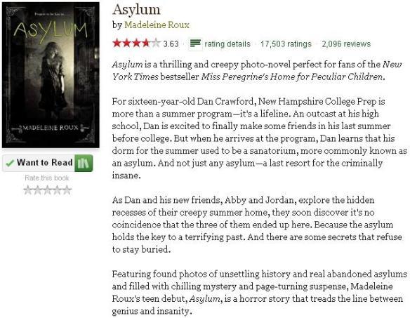 asylumgoodreadsblurb