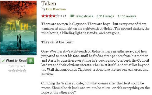 takengoodreadsblurb