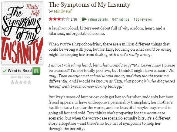 thesymptomsofmyinsanitygoodreadsblurb