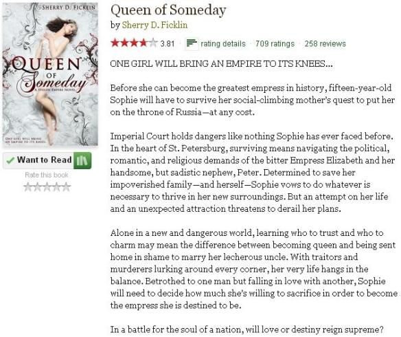 queenofsomedaygoodreadsblurb