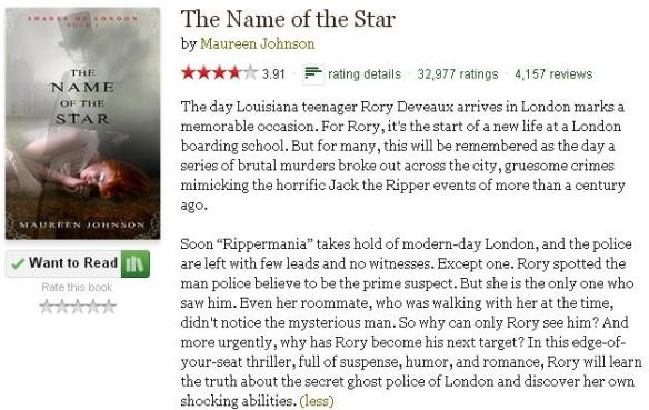 thenameofthestargoodreadsblurb