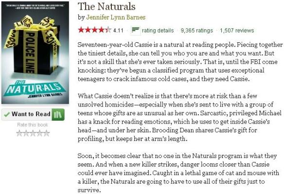 thenaturalsgoodreadsblurb