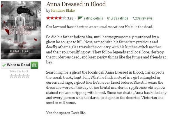 goodreadsblurbannadressedinblood