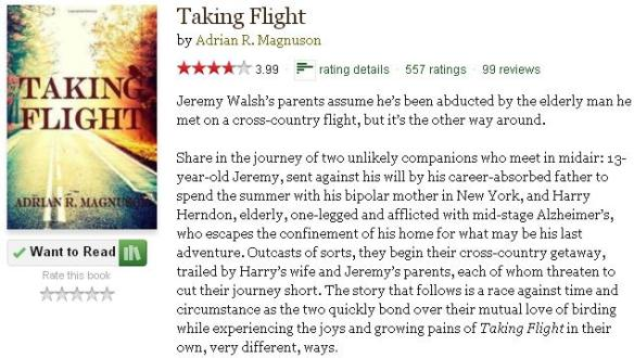 goodreadsblurbtakingflight