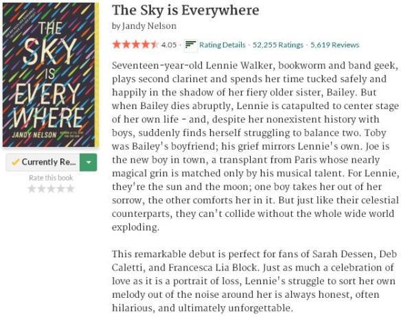 goodreadsblurbtheskyiseverywhere