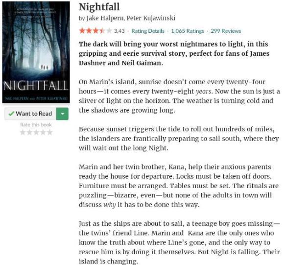 goodreadsblurbnightfall