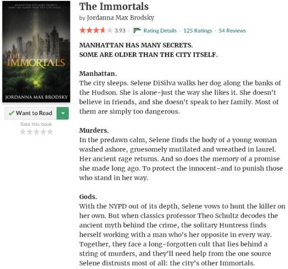 goodreadsblurbtheimmortals