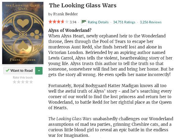 goodreadsblurbthelookingglasswars