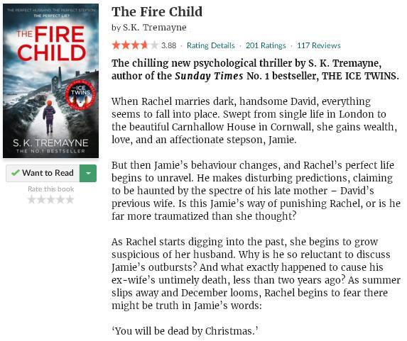 goodreadsblurbthefirechild