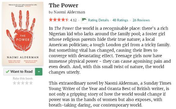 goodreadsblurbthepower