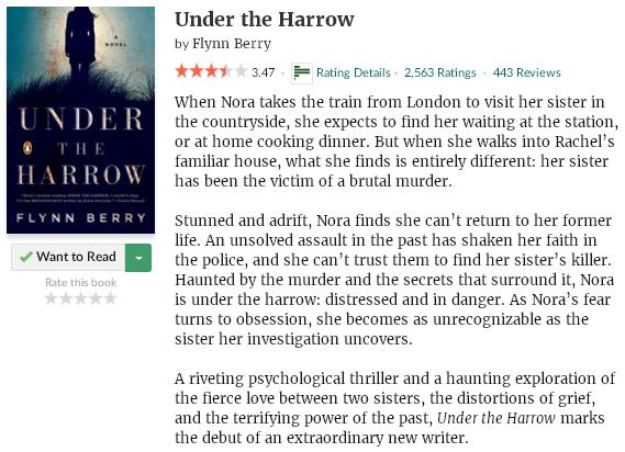 goodreadsblurbundertheharrow