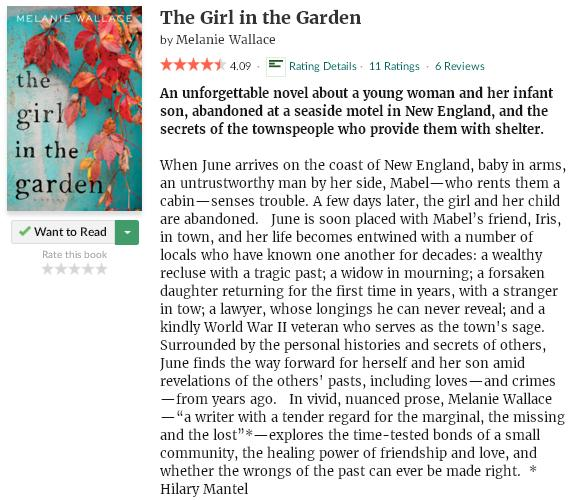 goodreadsblurbthegirlinthegarden