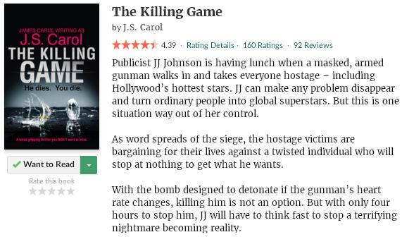goodreadsblurbthekillinggame