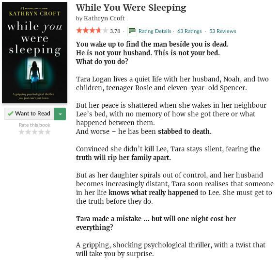 goodreadsblurbwhileyouweresleeping