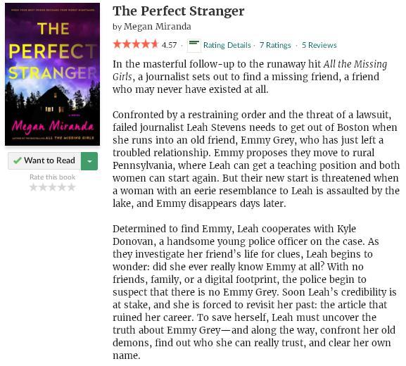 goodreadsblurbtheperfectstranger