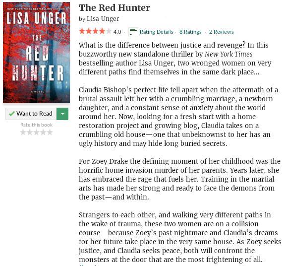 goodreadsblurbtheredhunter