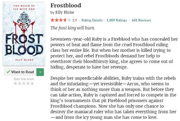 goodreadsblurbfrostblood