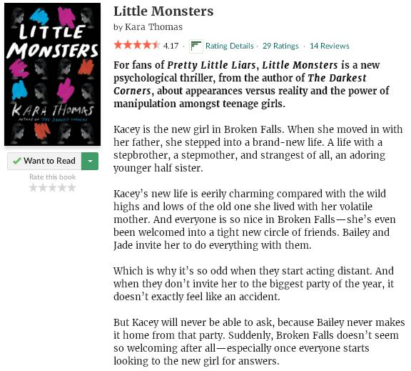 goodreadsblurblittlemonsters